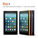 "Fire 7 Tablet  (7"" display, 8 GB) - Black - (Previous Generation - 7th)"