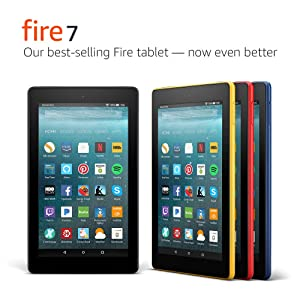 Fire 7 Tablet with Alexa, 7
