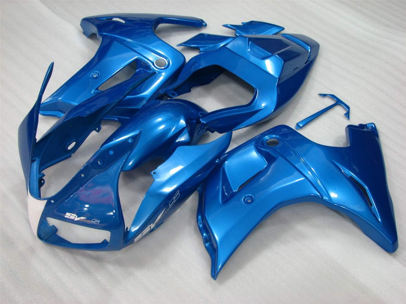 NT FAIRING Silver Fairing Fit for SUZUKI 2003-2008 SV650 New ABS Plastics Bodywork Body Kit Bodyframe Body Work