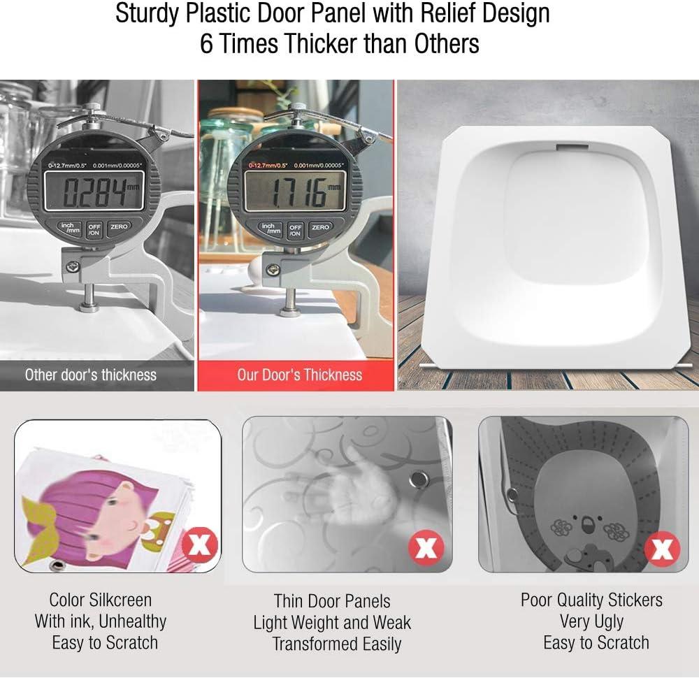 BECCOBEAT Table de Chevet Table de Nuit Blanc Laqu/é Tables de Chevets Blance Petite Cabinet de Stockage pour Enfant Fille Garcon Tier 1