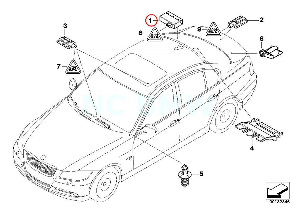 Amazon Com Bmw Genuine Control Unit Passive Go Automotive
