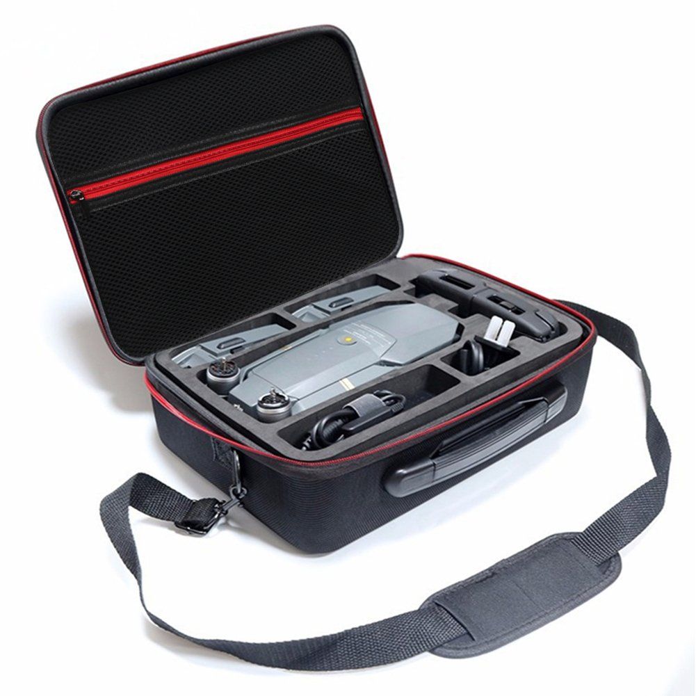 Soyan Carrying Case for DJI Mavic Pro, Remote Controller, Batteries and Accessories (Black)