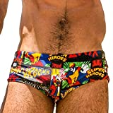 Taddlee Men Swimwear Swim Briefs Bikini Board Surf Shorts Boxer Trunks Swimsuits (M)