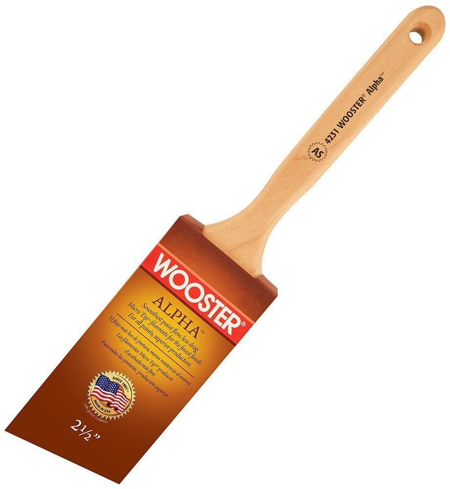 Wooster Brush 4231-2-1/2 Alpha Angle Sash Paintbrush, Pack of 15 by Wooster Brush (Image #2)