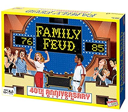 Family Feud 40th Anniversary Retro Edition Board Game