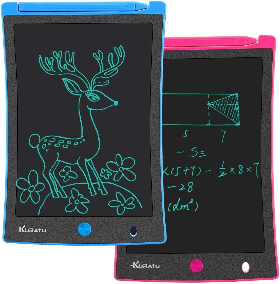 WUSHIYU LCD Tablet Childrens LCD Portable Tablet 8.8 Inch Electronic Graffiti Painting Board Small Blackboard Portable Writing Board Color : Yellow, Size : 8.8 inches