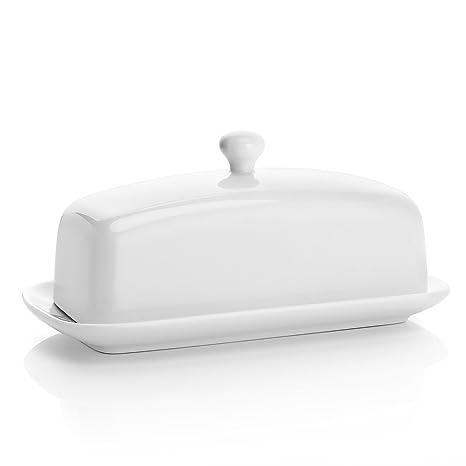 Amazon.com: Sweese - Mantequera de porcelana con tapa, ideal ...