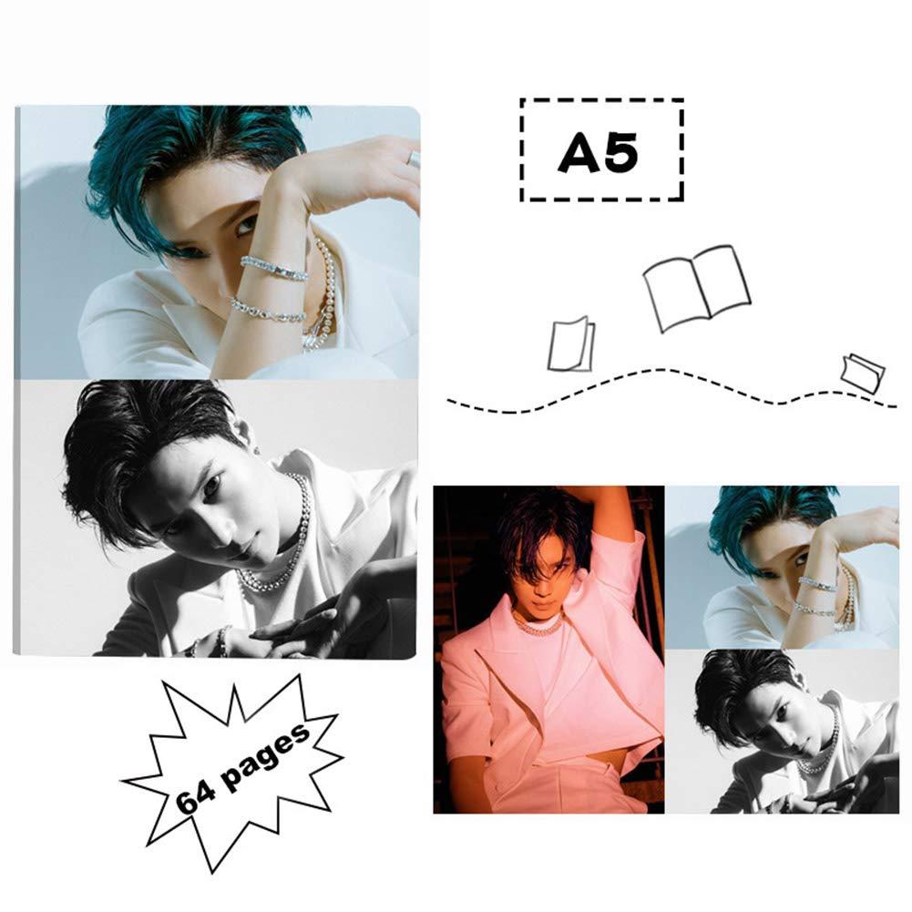 Taeyong 1H04-20X14.5cm SuperM Jopping Member Taemin Baekhyun Taeyong Ten Kai Mark Lucas gerFogoo Kpop SuperM Notebook