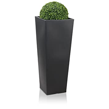 Berühmt Pflanzkübel Blumenkübel CONO PLAZA 100 Kunststoff, 40x40x100 cm PP75