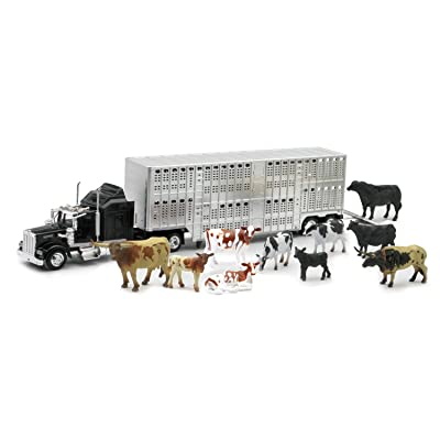 New Ray 1:43 Livestock Playset: Toys & Games