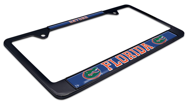 AMG Auto Emblems All Metal NCAA Mascot Black License Plate Frame Florida State