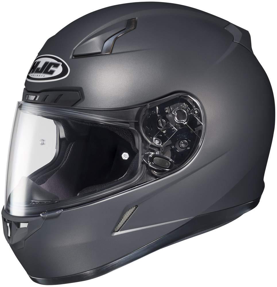 HJC CL-17 Helmet (XXXX-LARGE) (MATTE ANTHRACITE) by HJC Helmets