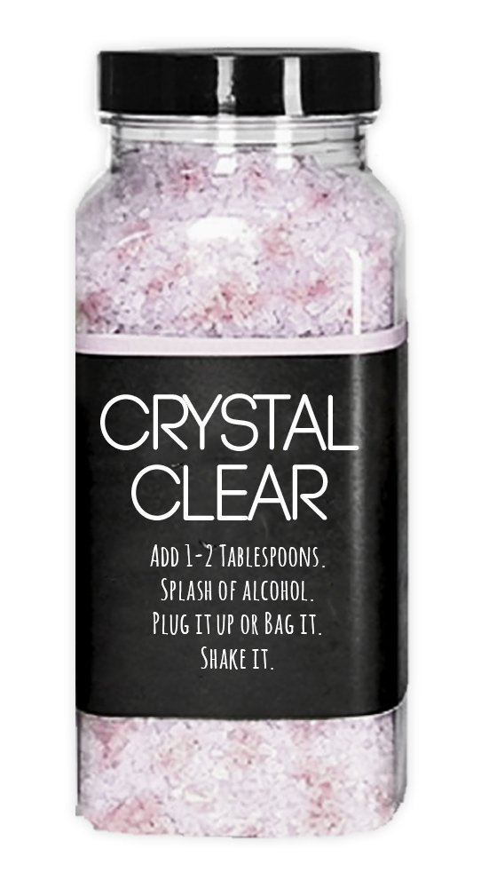 Amazon com: Crystal Clear - Ceramic Metal Glass Pipe and