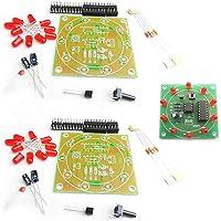 2 piezas NE555 CD4017 electrónica Lucky Turntable producción