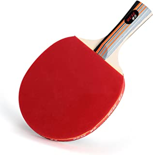 Tennis de table Ping Pong Racket Bat + Housse Sport Paddle New Formation Professionnelle Outdoor Games Luwu-Store