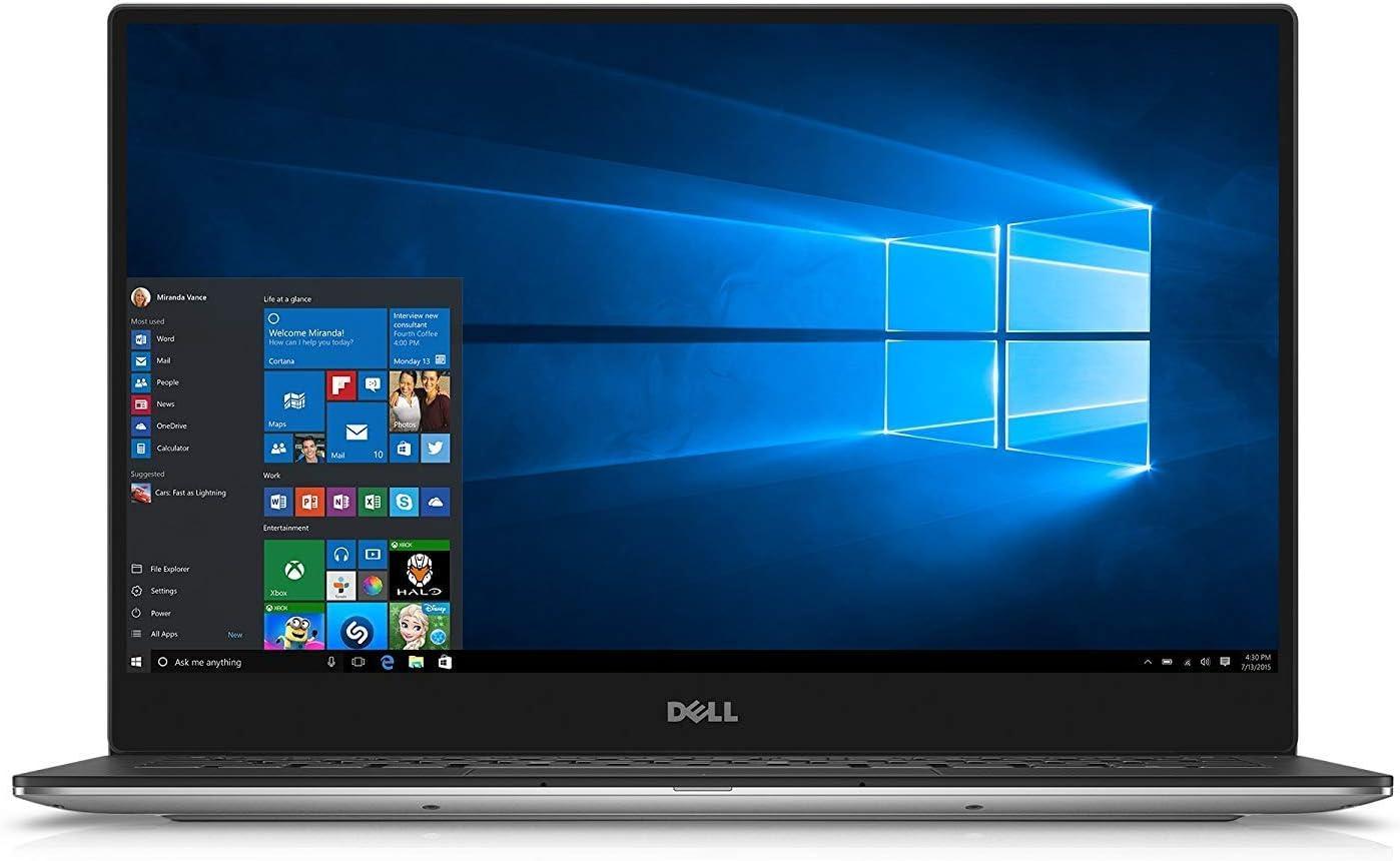 "Dell XPS 13 9360 2019 Flagship 13.3"" Full HD IPS Business Laptop, Intel Quad-Core i7-8550U up 4GHz 8GB RAM 512GB SSD MaxxAudio Backlit Keyboard Thunderbolt 3 Bluetooth 4.1 802.11ac Win 10"