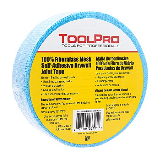 ToolPro Drywall Mesh Tape - Blue 300