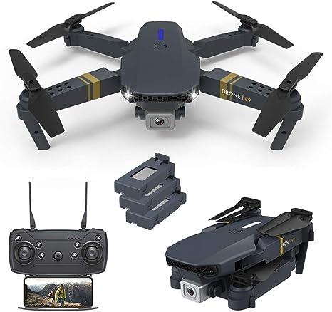 Opinión sobre ANAN Mini Drone Plegable, con Luces LED WiFi FPV Drone, 45 Minutos Tiempo Vuelo, Modo sin Cabeza, Vuelo de trayectoria, Rollo de 360 °, Despegue y Aterrizaje con un Clic