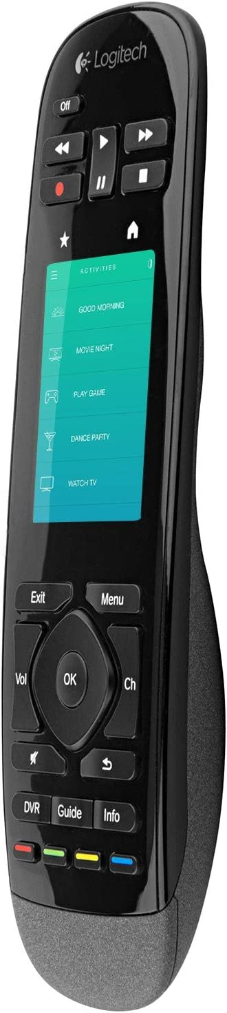 Logitech Harmony Touch Universal Remote with Color Touchscreen Black 915-000198 Renewed