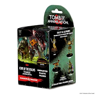 Dungeons & Dragons WizKids Icons of The Realms: Tomb of Annihilation Booster Pack: Toys & Games