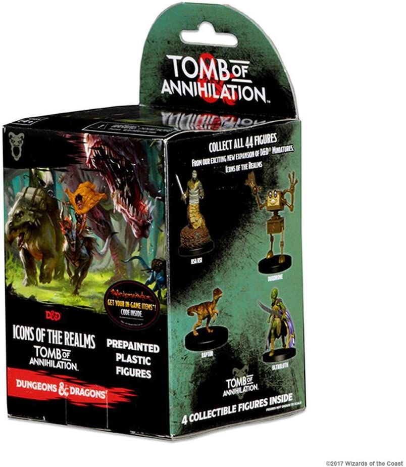 Dungeons and Dragons Fantasy Miniatures: Icons of The Realm: Tomb of Annihilation Booster: Amazon.es: Juguetes y juegos