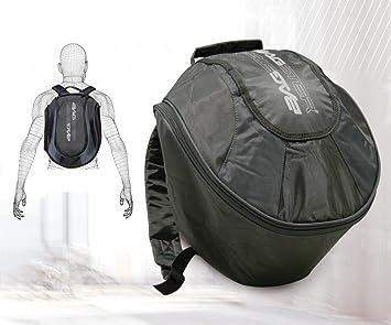 8c60f4d78f7 Bagster - Mochila para casco negro negro: Amazon.es: Coche y moto
