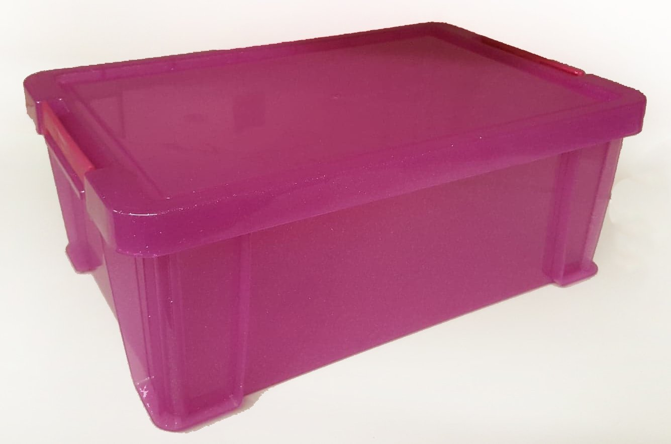Home Organization Storage Boxes Pack Of 2 A4 Stacks With 10 Purple A4 Storage Boxes