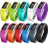 SKYLET Colorful Fitness Replacement bands for Garmin Vivofit - NOT for Garmin Vivofit 2 3 JR HR(No Tracker)