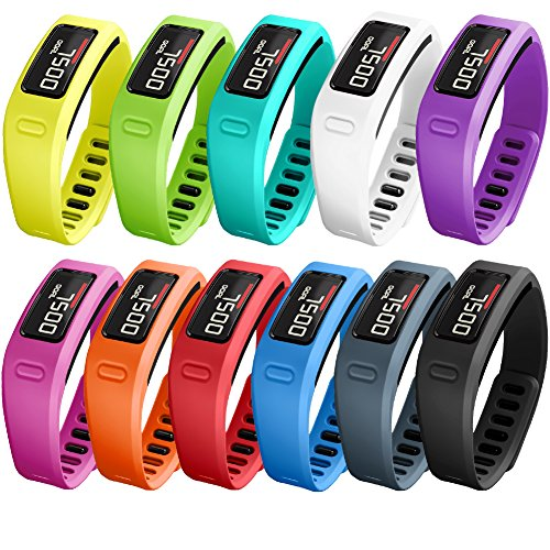 SKYLET Colorful Fitness Replacement bands for Garmin Vivofit, NOT for Garmin Vivofit 2/3/JR/HR(No Tracker)