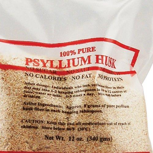 Health Plus Psyllium Husk Bag 12 Oz by Health Plus
