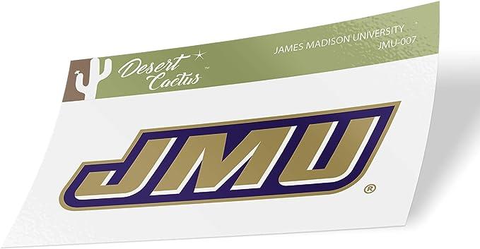 Full Sheet James Madison University JMU Dukes NCAA Sticker Vinyl Decal Laptop Water Bottle Car Scrapbook