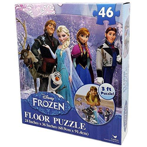 Disney Frozen Puzzle Pieces Inches