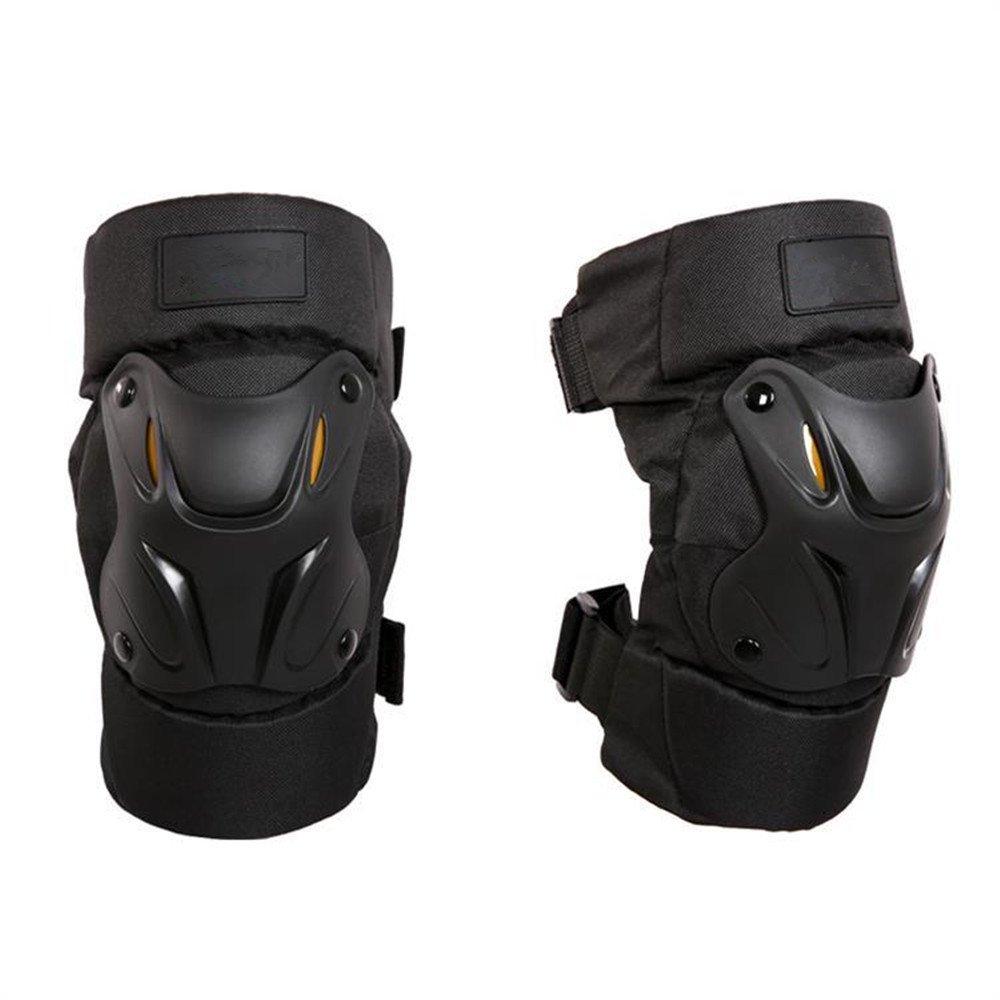 QAR Genouillères De Protection Anti-éclatement De Moto en Plein Air Genouillère