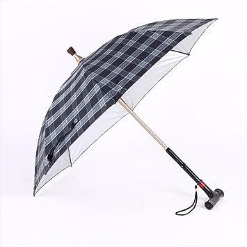 HLMMM Inteligente Muleta Electrónica Paraguas Multifunción Barra Reversa Muleta Paraguas Defensa Rayos UV Creatividad Regalo Paraguas