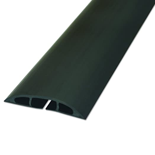 D Line CC 1 Black Cable Protector/Floor Cable Cover | Cable Tidy