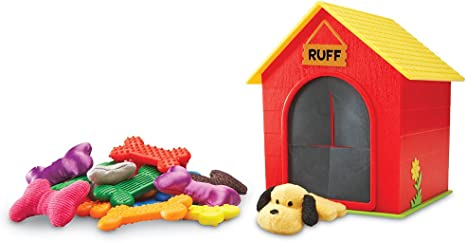 Learning Resources Ruff's House Teaching Tactile Set, 30Piece
