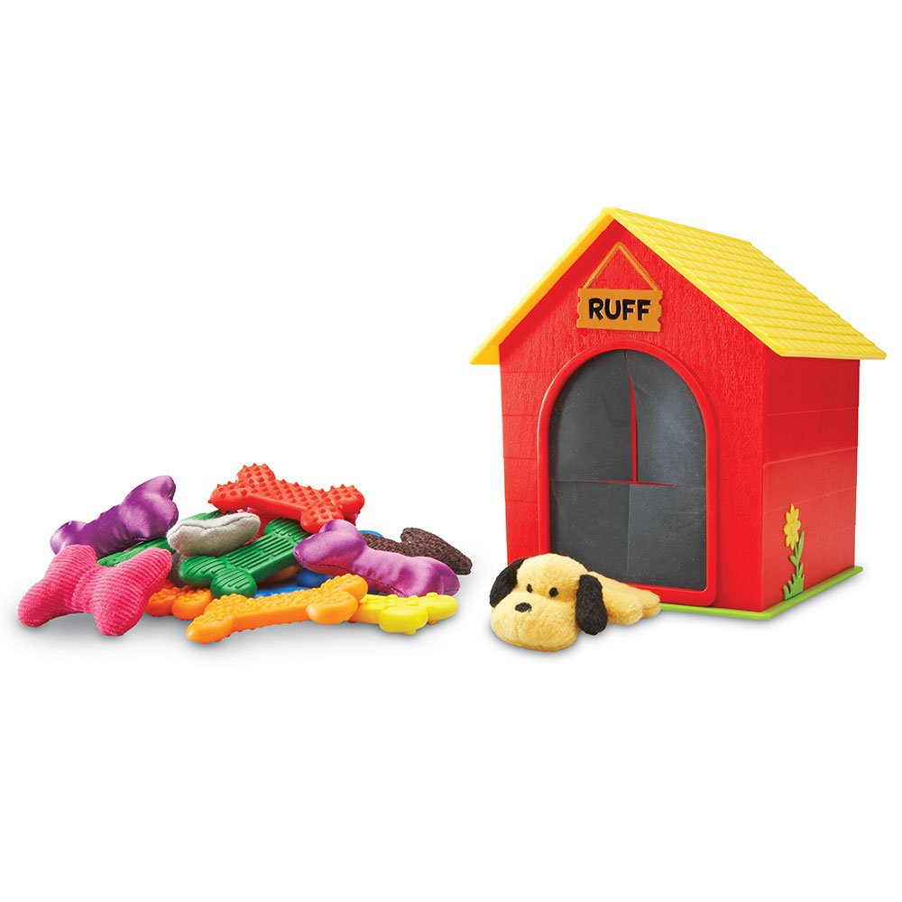 Learning Resources Ruff's House Teaching Tactile Set, 30 Pieces