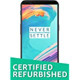 (Certified REFURBISHED) OnePlus 5T (Midnight Black, 64GB)