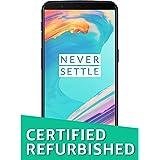 (Renewed) OnePlus 5T (Midnight Black, 64GB)