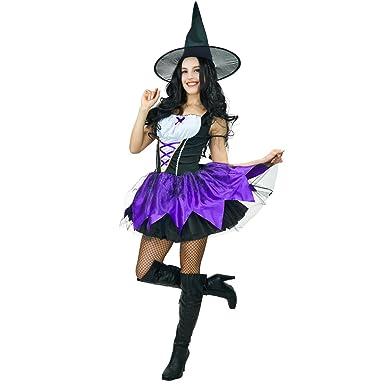 Amazon.com: Women's Purple Witch Costumes: Clothing