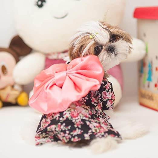 L Pet supplies MAI HAO MKO Ropa para Perros Kimono Mascota Disfraz ...