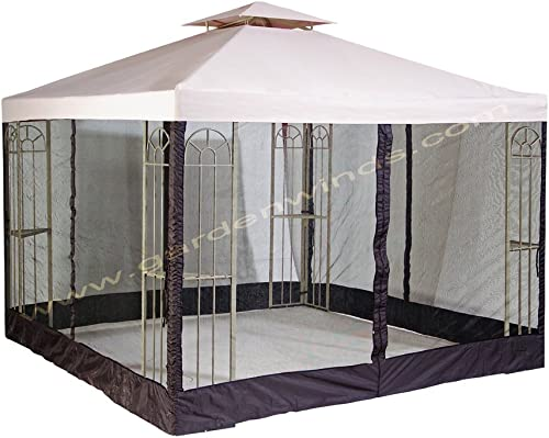Garden Winds Classic S-577-1 Gazebo Replacement Canopy Top Cover – RipLock 350