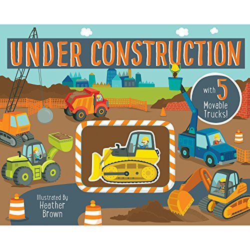Bendon 25648 Piggy Toes Press Under Construction Interactive Storybook ()