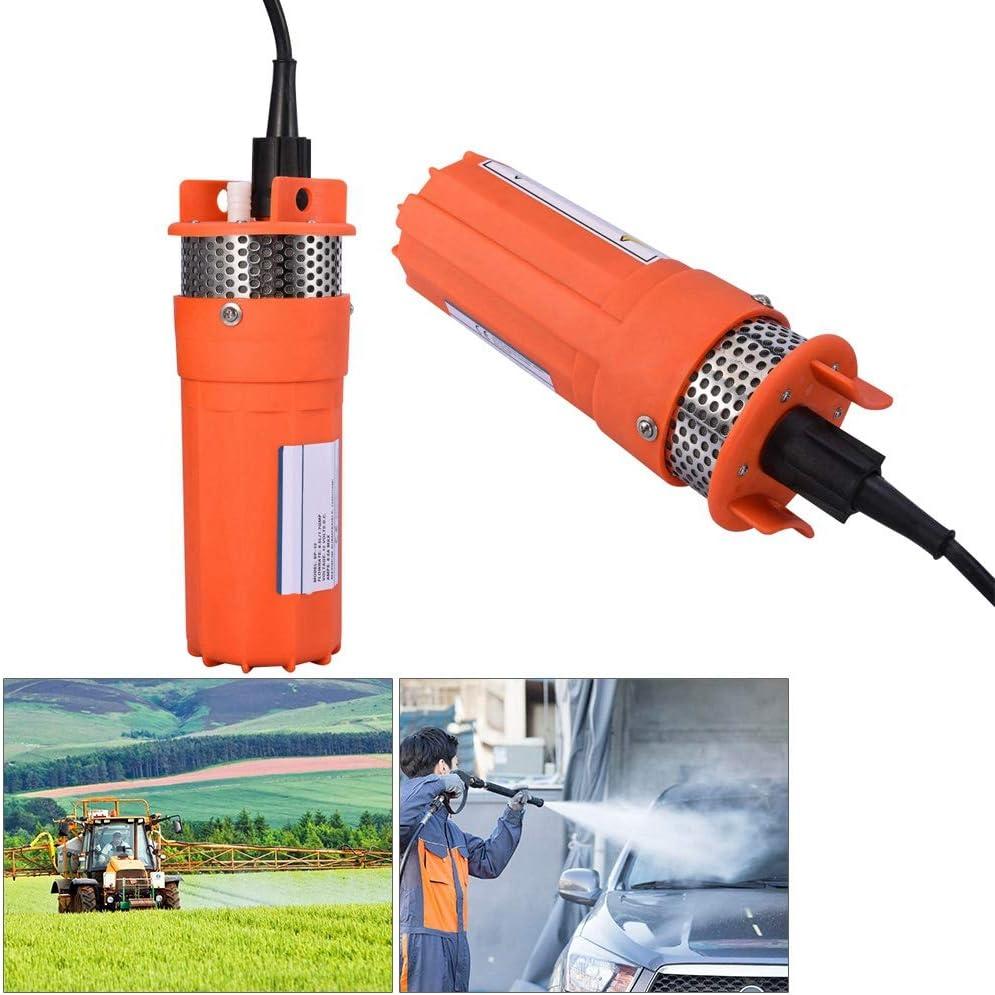 pompe /à eau DC submersible de puits profond Pompe submersible solaire d/énergie alternative 12 V 1//2 pouce