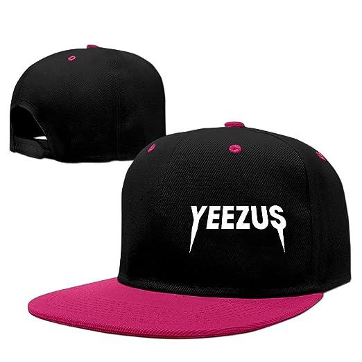 3046b0c8 Amazon.com: Enghuaquj Yeezus Logo Hiphop Baseball Cap Hat: Clothing