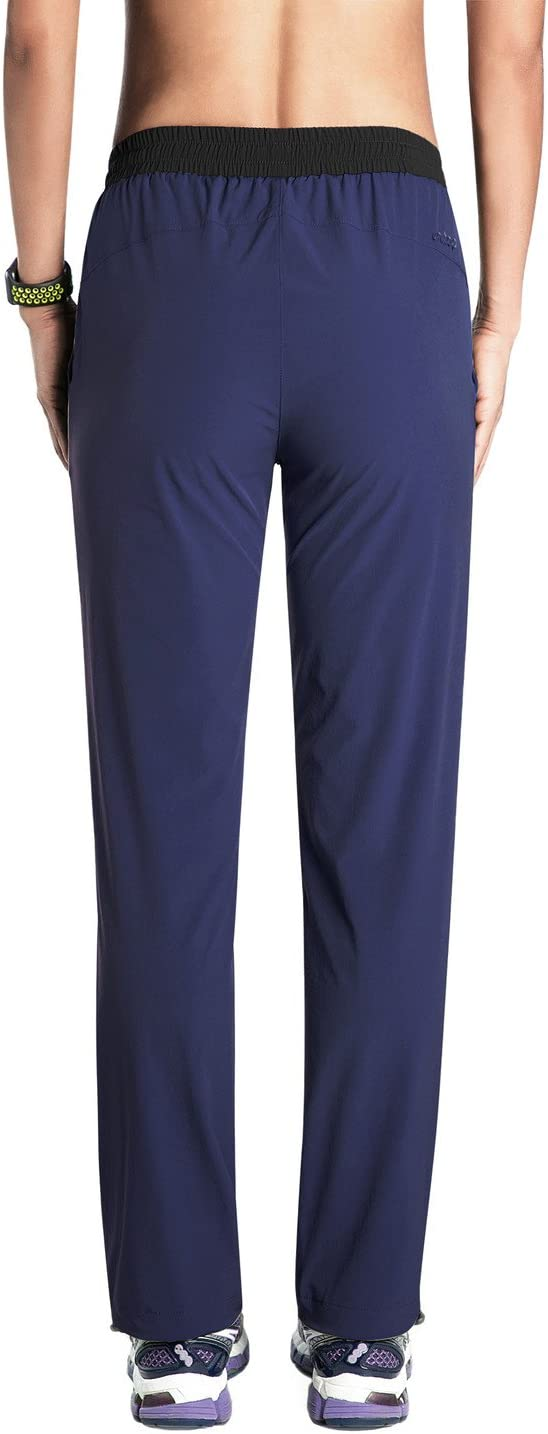 Unitop Womens Quick Dry Cargo Hiking Pants with Drawstring