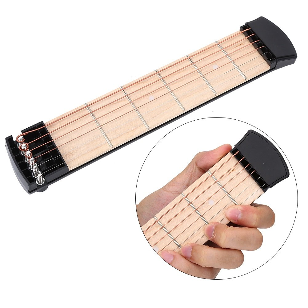 Ejercicios de Dedos de Guitarra 6 Cuerdas Herramienta de Práctica para Principiantes: Amazon.es: Instrumentos musicales