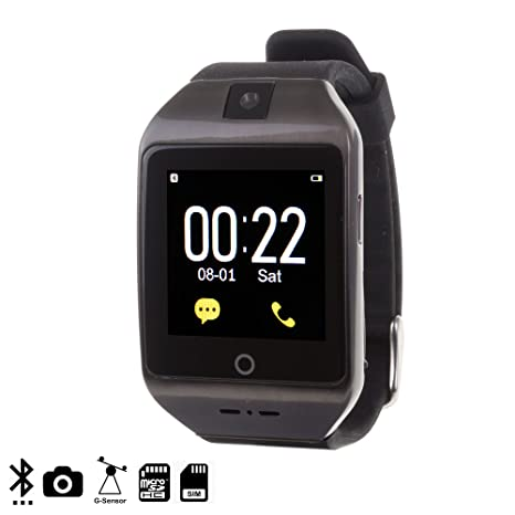 DAM DMR121 - Smartwatch I8S, Color Negro: Amazon.es: Electrónica