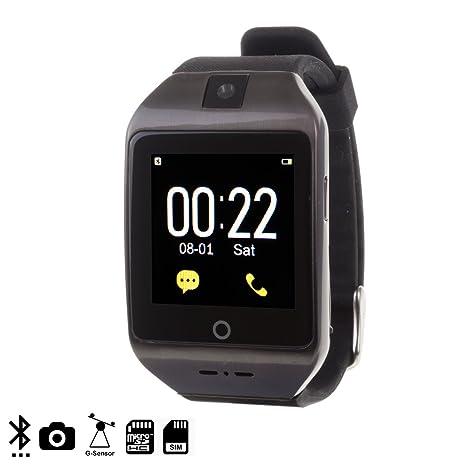 DAM - I8S Smartwatch Black. Cámara integrada de fotos y videos de ...