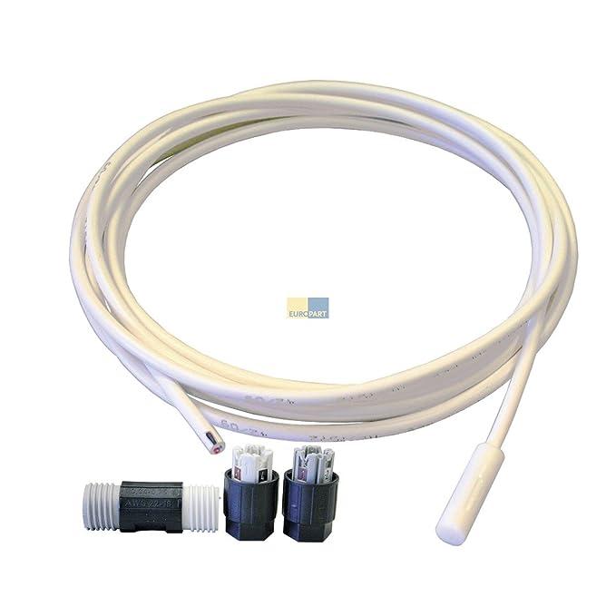 Liebherr 9590142 Original Sonda Sensor para Evaporador 4,7 kohm ...